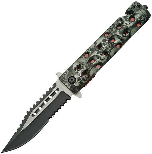 SZCO Supplies Assisted Opening Skull Knife
