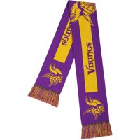Forever Collectibles - NFL Adult Big Logo Scarf, Minnesota Vikings