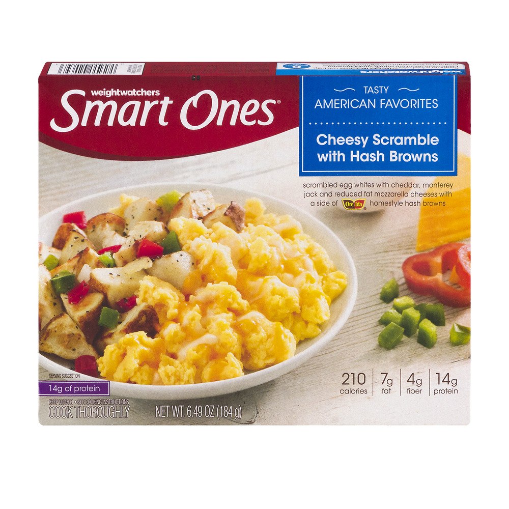 Weight Watchers Smart Ones Cheesy Scramble With Hash Browns, 6.49 OZ