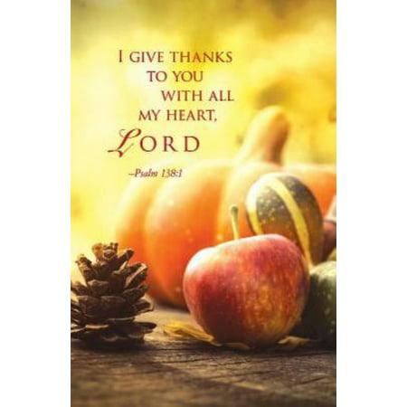Image of I Give Thanks / Thanksgiving Bulletin-Regular