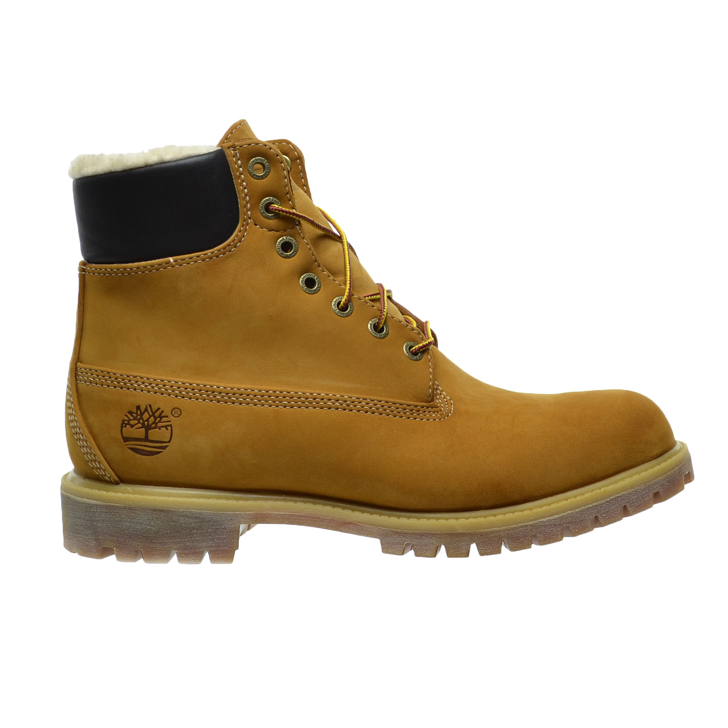 Timberland 6 Inch Fur Lined Nubuck Men's Boots Wheat tb0a13ga by Timberland