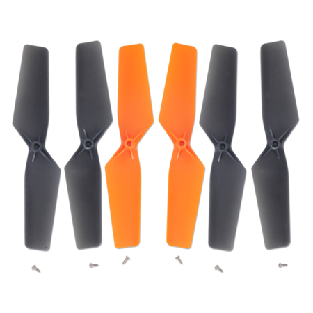 HobbyFlip Quadcopter Propellers Blades 6 pcs Props Propeller Y100-Z-01 Compatible with Walkera QR Y100 WiFi