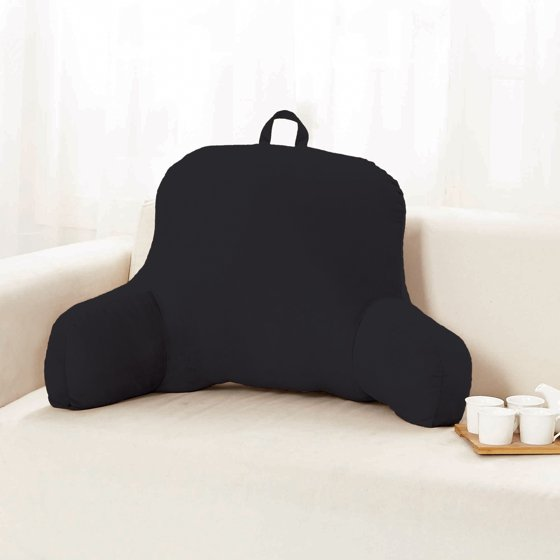 Sweet Home Micro Plush Back Support W Arms Bed Rest