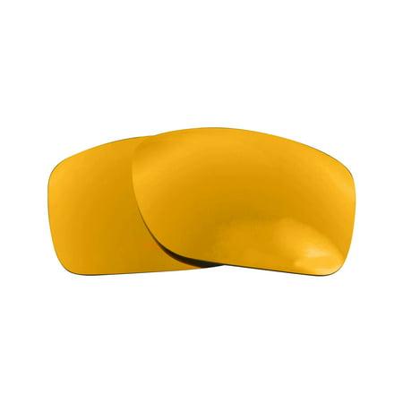 Replacement Lenses Compatible with OAKLEY TURBINE Non-Polarized 24K Gold (Oakley Turbine Accessories)