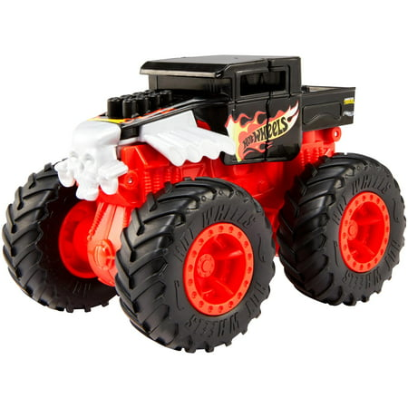 Stacking Truck (Hot Wheels Monster Trucks Bash-Ups Collection (Styles May Vary) )
