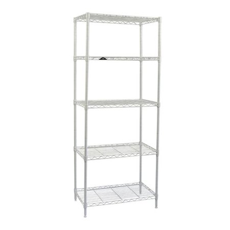 Apollo Hardware 5-Shelf Wire Shelving 60'' H x 24'' (Ace Hardware Shelves)
