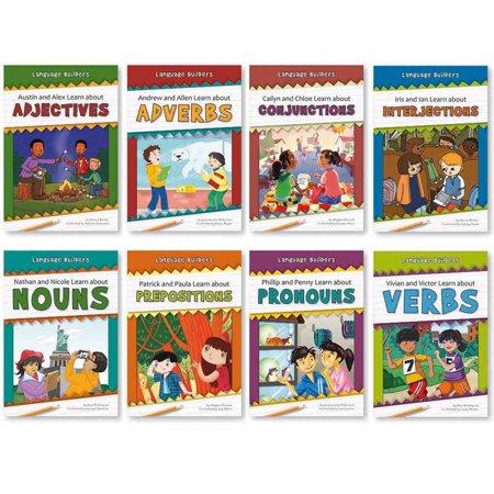 Language Builders Set Of 8 Books - image 1 of 1