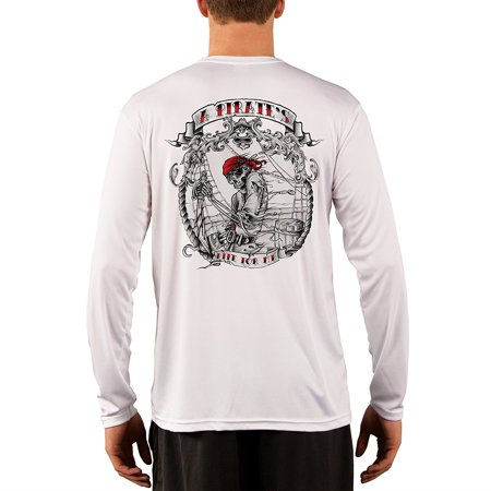 Pirate Life Men's UPF 50+ UV/Sun Protection Long Sleeve T-Shirt](Pirate Apparel)