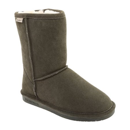 Bearpaw Boots Womens Emma Pull On Cow Suede Wool Blend 608W