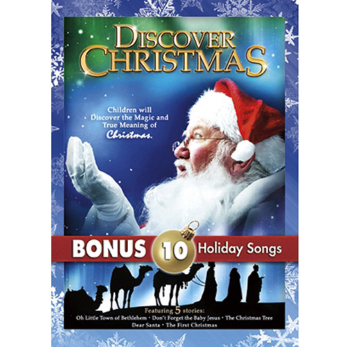 Discover Christmas (With 10 Christmas MP3s) (Full Frame)