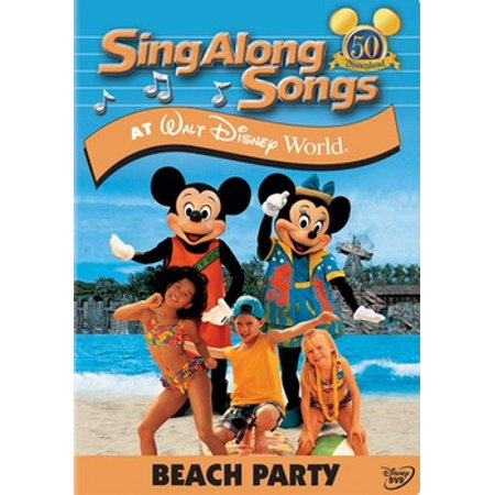Sing Along Songs at Walt Disney World: Beach Party (DVD)
