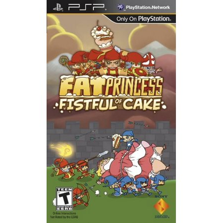 Fat Princess: Fistful of Cake - Sony PSP