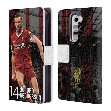 OFFICIAL LIVERPOOL FOOTBALL CLUB 2017/18 FIRST TEAM 1 LEATHER BOOK WALLET CASE COVER FOR LG PHONES 2 ()