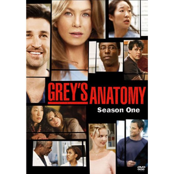 Greys Anatomy Season One Dvd Walmart