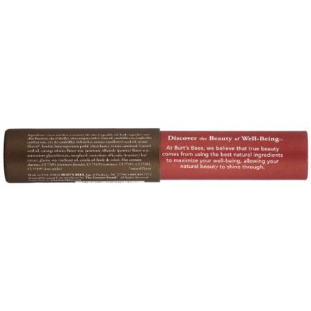 Burt's Bees 100% Natural Tinted Lip Balm, Red Dahlia with Shea Butter & Botanical Waxes – 1 Tube - image 1 of 4