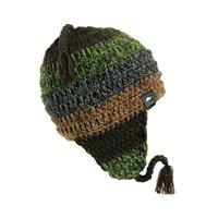 8c2224dd174fb Product Image Turtle Fur Joe Seafus Men s Fleece Lined Hand Crocheted  Earflap Winter Hat Olive