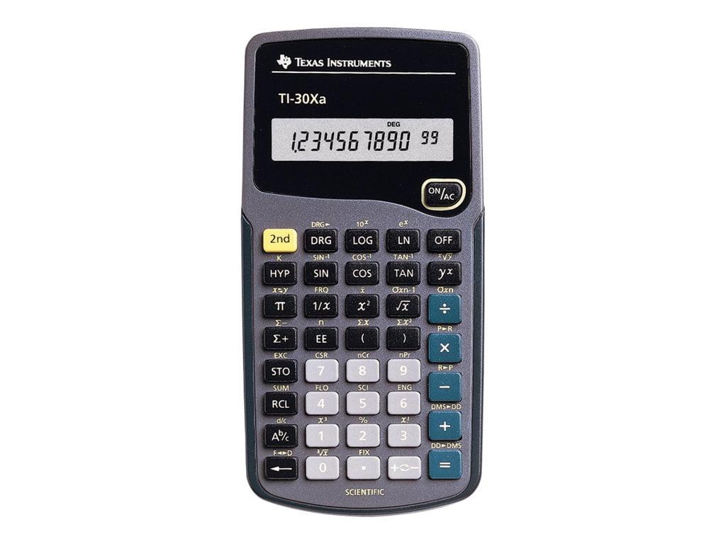 Texas Instruments TI-30XA Student Scientific Calculator