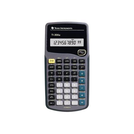 Texas Instruments TI-30Xa - Scientific calculator - 10 digits - battery ()