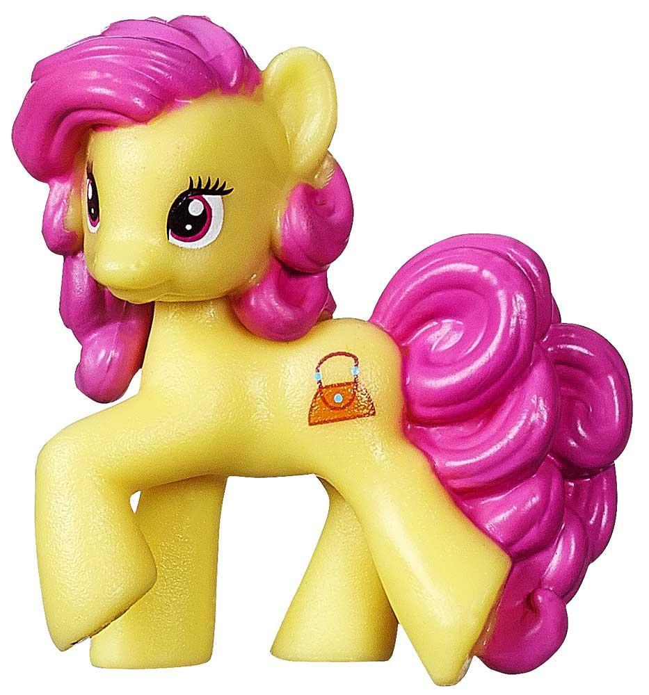 "My Little Pony Friendship is Magic Series 10 Pursey Pink 2"" PVC Figure [Loose]"