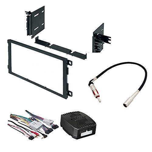CAR STEREO RADIO DASH INSTALLATION MOUNTING KIT W/ WIRING HARNESS FOR SELECT BUICK CADILLAC CHEVROLET GMC HUMMER ISUZU OLDSMOBILE PONTIAC VEHICLES