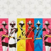 "Power Rangers Ninja Steel Plastic Table Cover, 54"" x 96"""