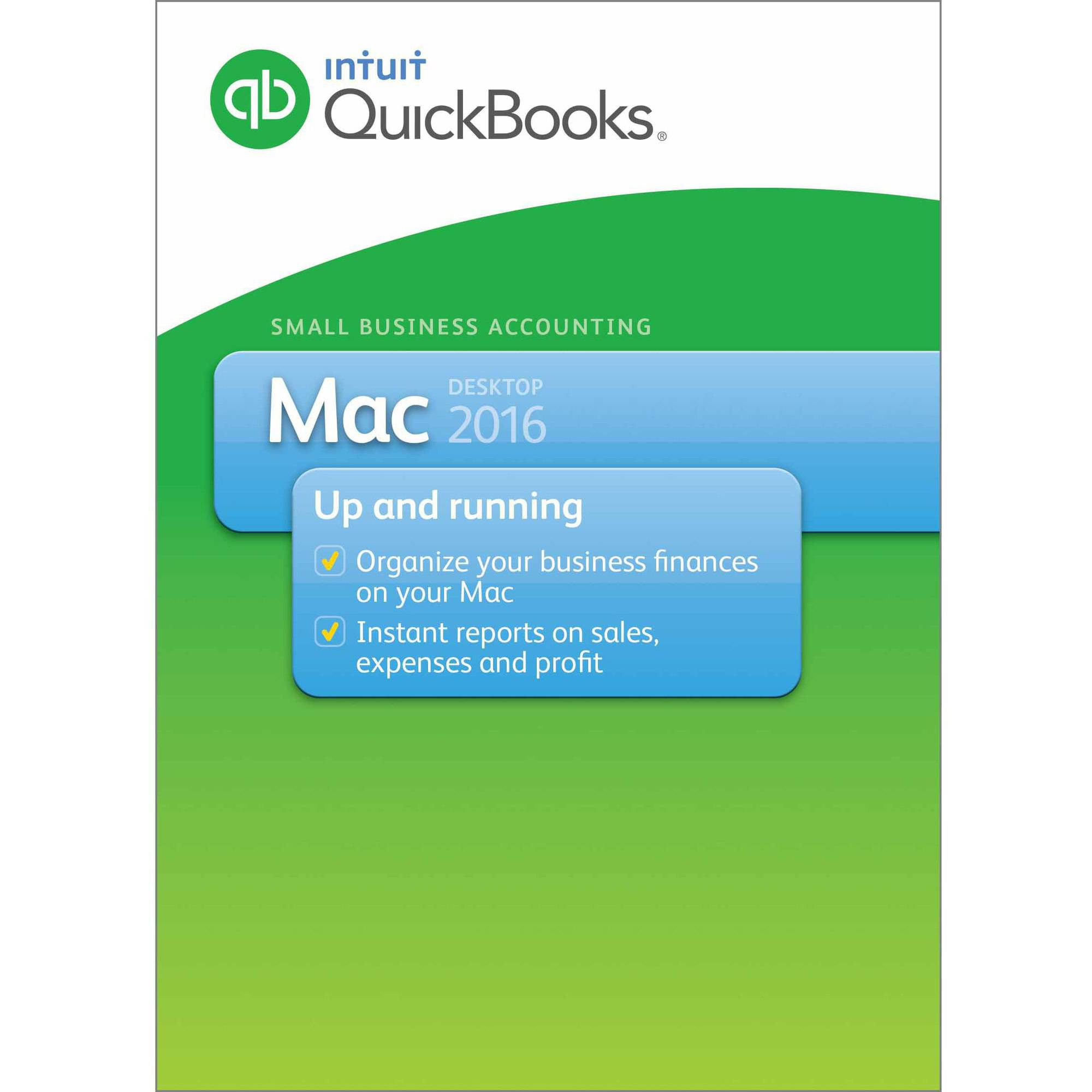 QuickBooks Pro for Mac 2016