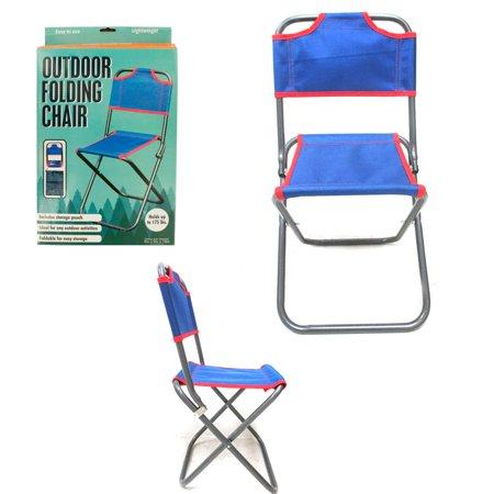 1 folding chair child outdoor portable beach fishing for Fishing carts walmart