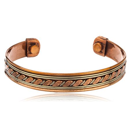 magnetic bracelet walmart ultimatecollectionnyc copper alternating chain style 3080