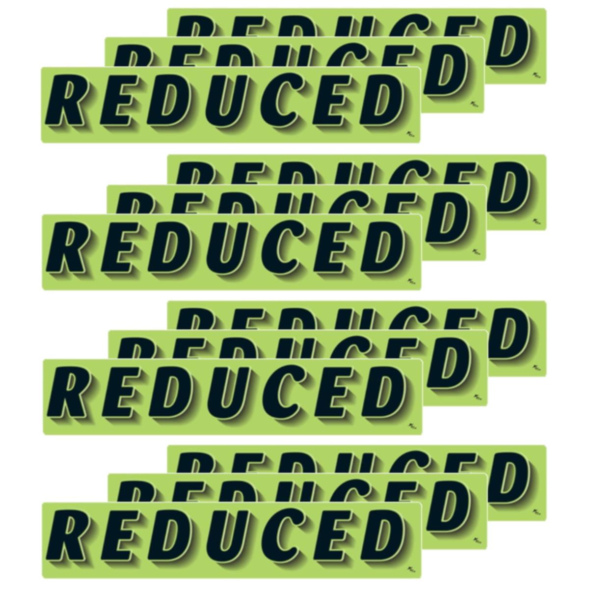 14.5 Inch Black /& Green Adhesive Windshield Slogan Car Dealer Sticker P/'S