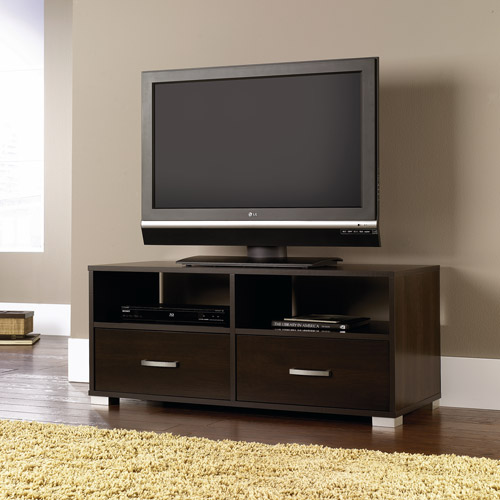 Sauder Cinnamon Cherry TV Stand for TVs up to 47""