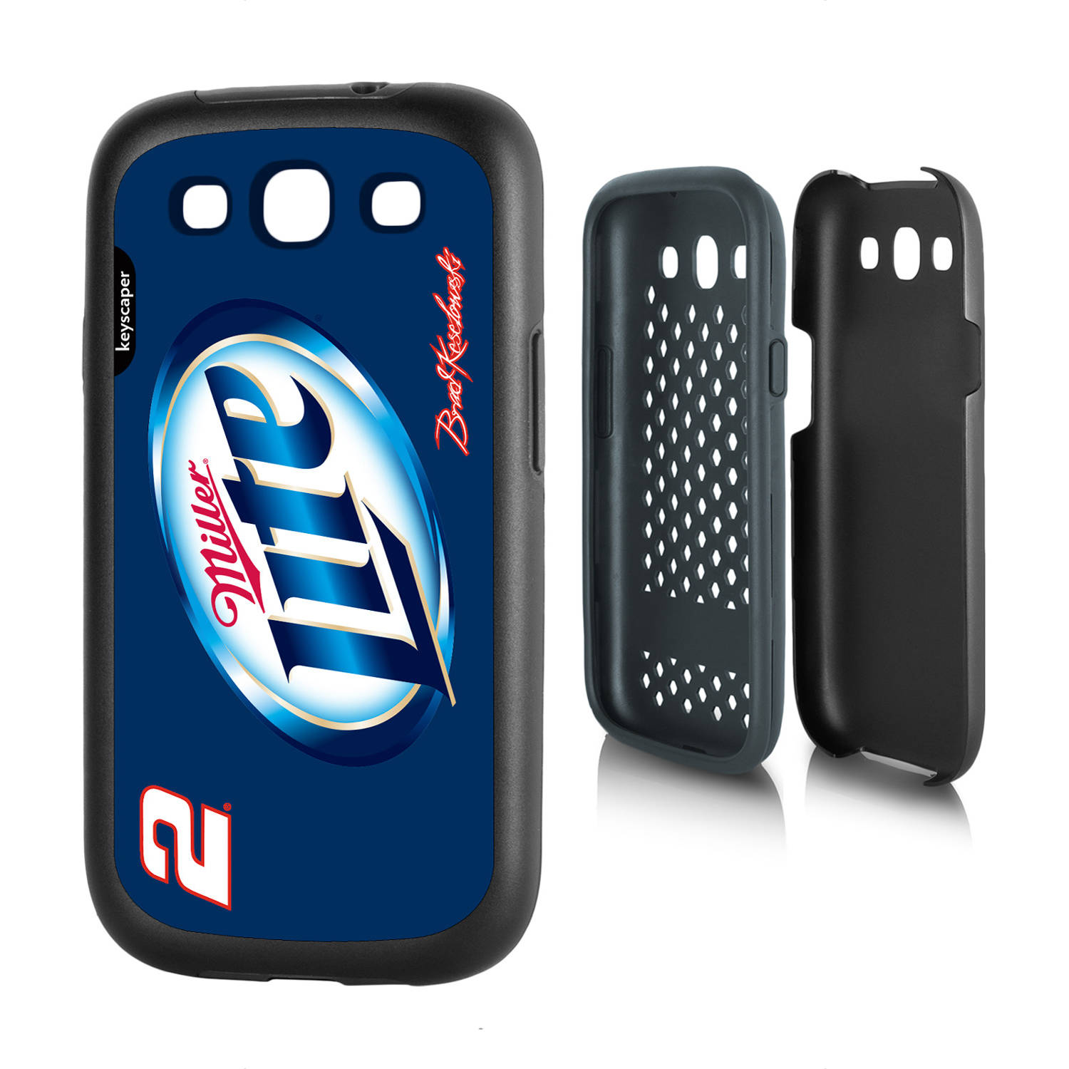 Brad Keselowski #2 Galaxy S3 Rugged Case