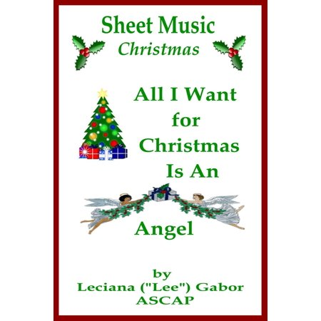 Sheet Music All I Want For Christmas Is An Angel - - This Is Halloween Sheet Music Choir