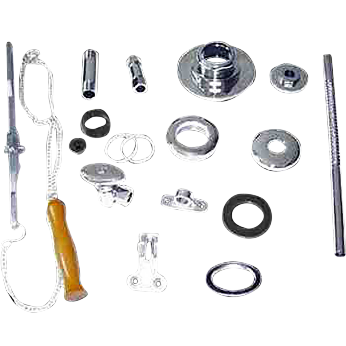 Toilet Part Chrome Part for High Tank Toilets | Renovator's Supply