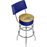 Golden State Warrior Swivel Bar Stool with Back, 2015 NBA Champs