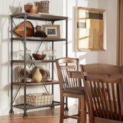 Tribecca Home Nelson Industrial Modern Rustic 40-inch Bookcase by