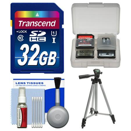 Samsung Bullet Camera - Essentials Bundle for Samsung HMX-F90, Q20, QF20, QF30 HD Camcorder with 32GB Card + Tripod + Accessory Kit
