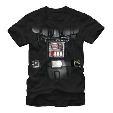 Star Wars Men's Darth Vader Armor T-Shirt (Darth Vader T Shirt)