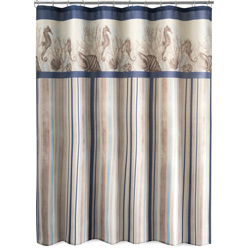 Folly Beach Stripe Shower Curtain