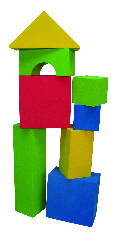 Edushape Big Educolor Blocks, 32-Piece by Edushape