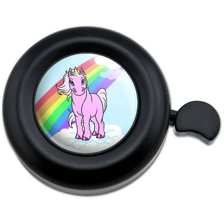 Unicorn Pony Rainbow Pink Bicycle Handlebar Bike Bell