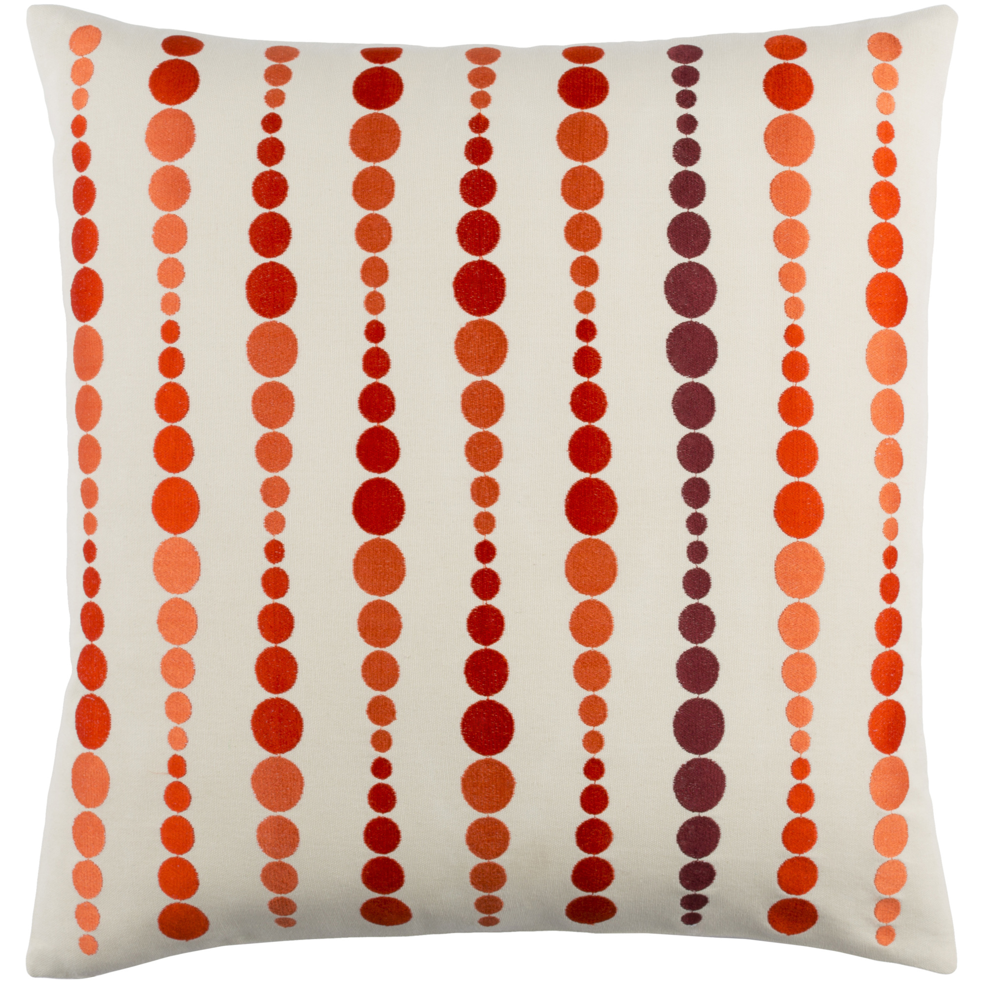 """Art of Knot Lilestone 18"""" x 18"""" Pillow (with Down Fill)"""