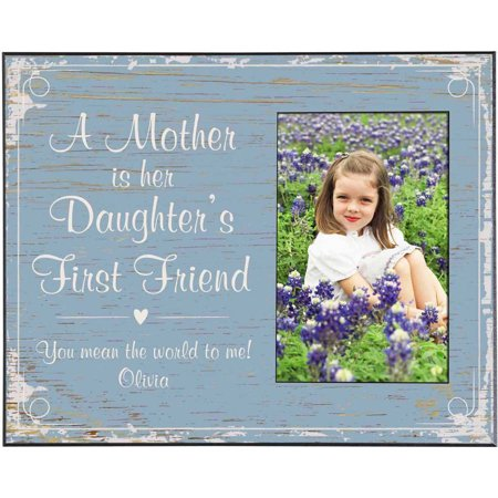 Personalized First Memories Photo Frame, Daughter, Available in 5 Colors