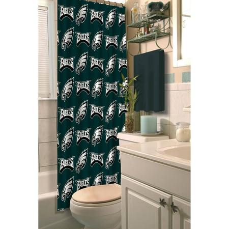 NFL Philadelphia Eagles Shower Curtain, 1 Each - Philadelphia Eagles Store