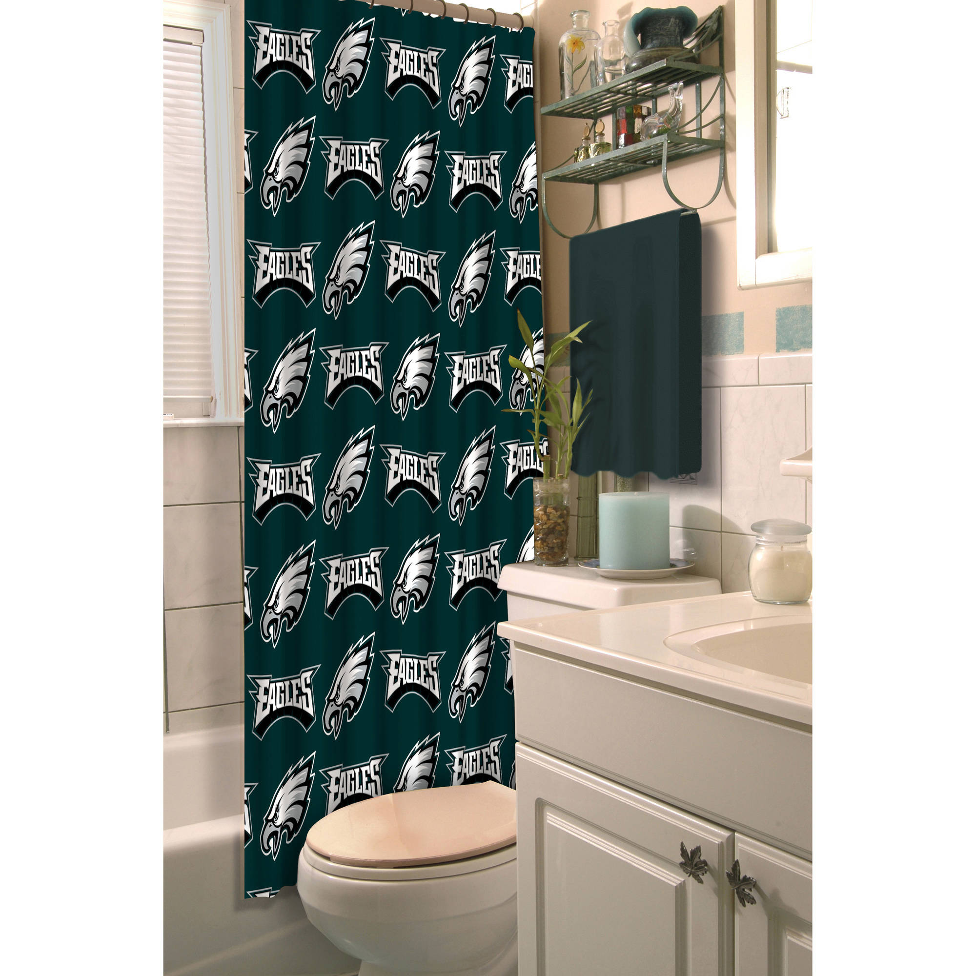 NFL Philadelphia Eagles Decorative Bath Collection - Shower Curtain