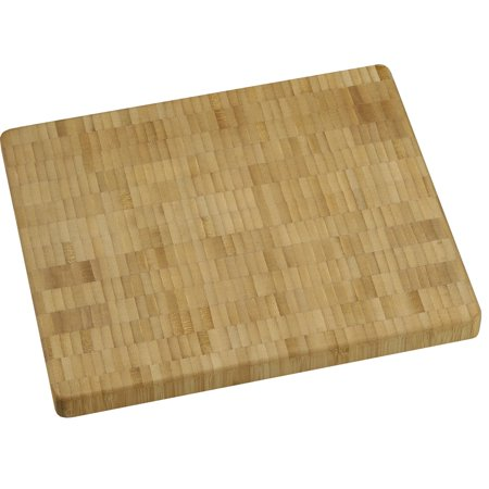Vance 10 X 12 inch X 1 inch thick Bamboo End-Grain Chopping Block, - 10 Slot Bamboo Block