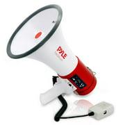 Pyle PMP57LIA - Mega Bullhorn with Built-in BT, MP3/USB/SD Readers, Aux (3.5mm) Jack, Siren Alarm Mode