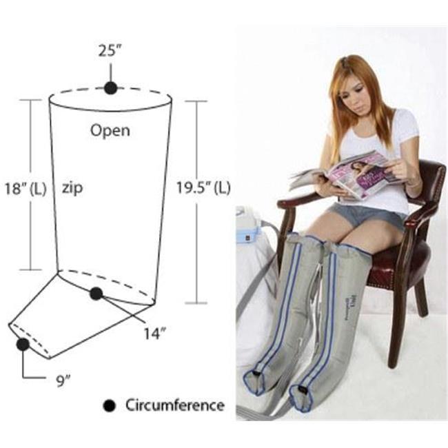 Lymphadema Garment XL 1/2-Leg Double