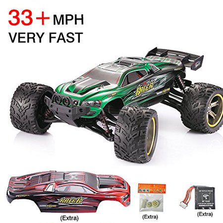 GPTOYS Luctan S912 RC Cars, 1:12 Scale 2 4Ghz Electric Fast 33MPH Off Road  Remote Control RC Trucks