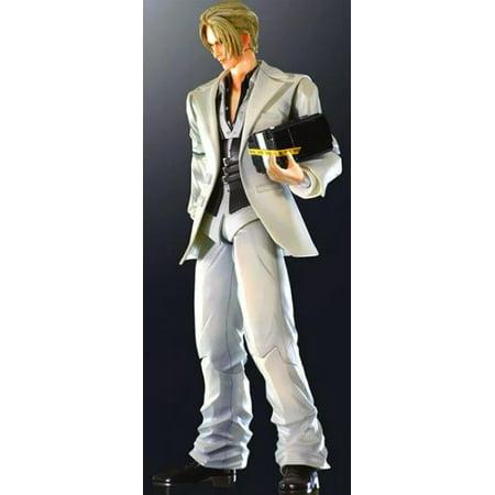 Final Fantasy VII Advent Children Play Arts Kai Action Figure Rufus (Final Fantasy Vii Advent Children Play Arts Sephiroth)