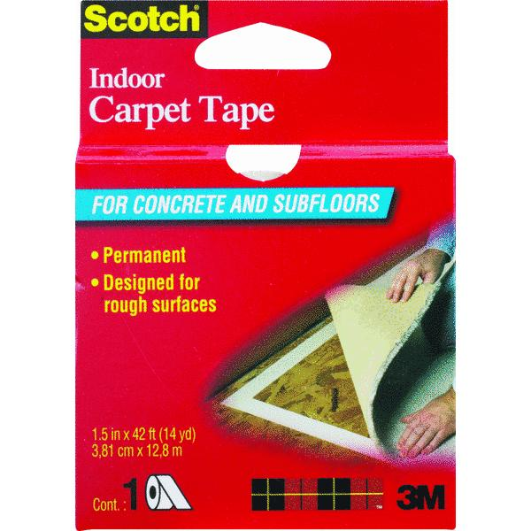 Duck Indoor Heavy Traffic Carpet Tape